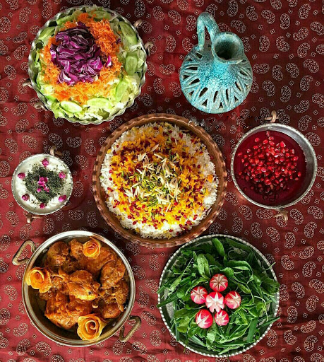 Iranian Lunch