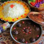 Khoresht-e Fesenjan (Fesenjan Stew)