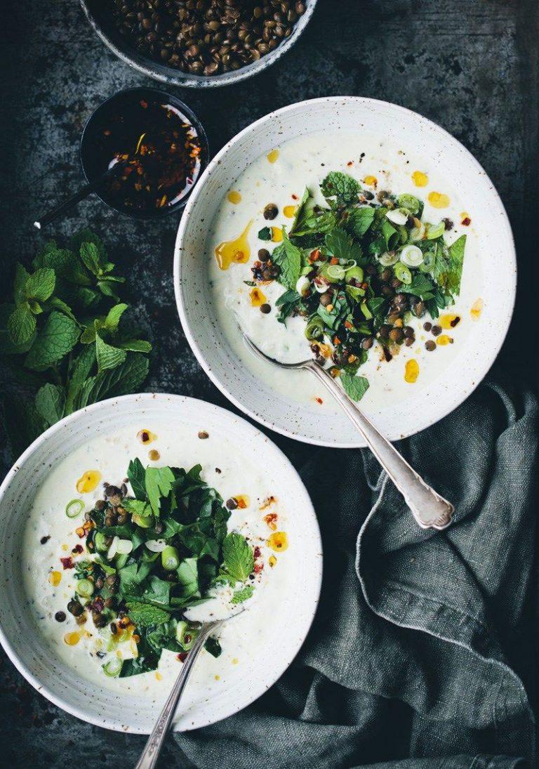 Ash-e Mast - Yogurt Soup
