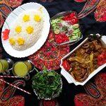 Khoresh Bademjan (Persian Eggplant Stew)