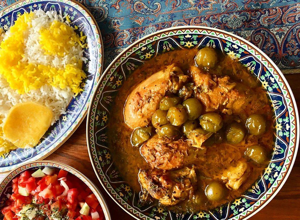 Khoresht-e Aloocheh - Drupelet Stew