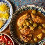 Khoresht-e Aloocheh (Drupelet Stew)