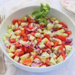 Shirazi Salad (Salad-e Shirazi)