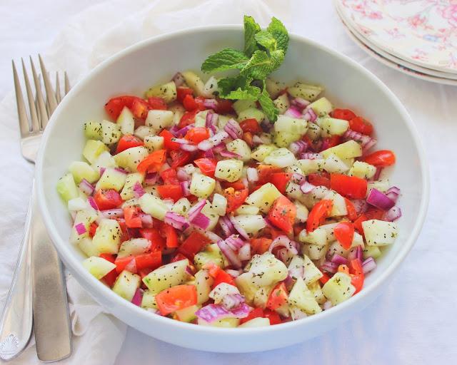 Shirazi Salad - Salad-e Shirazi