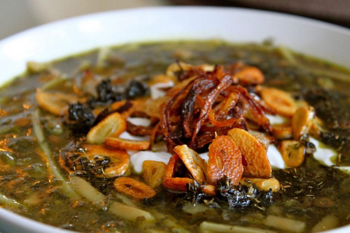 Ash-e Miveh - Fruit Potage