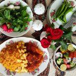 Estamboli polo (Persian tomato rice)