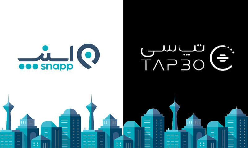 A Complete Guide to Online Taxi in Iran (Snapp and TAPSI)