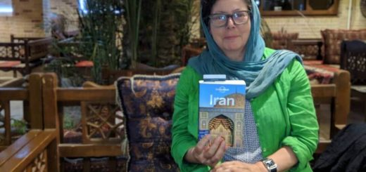 Solo female travel to Iran