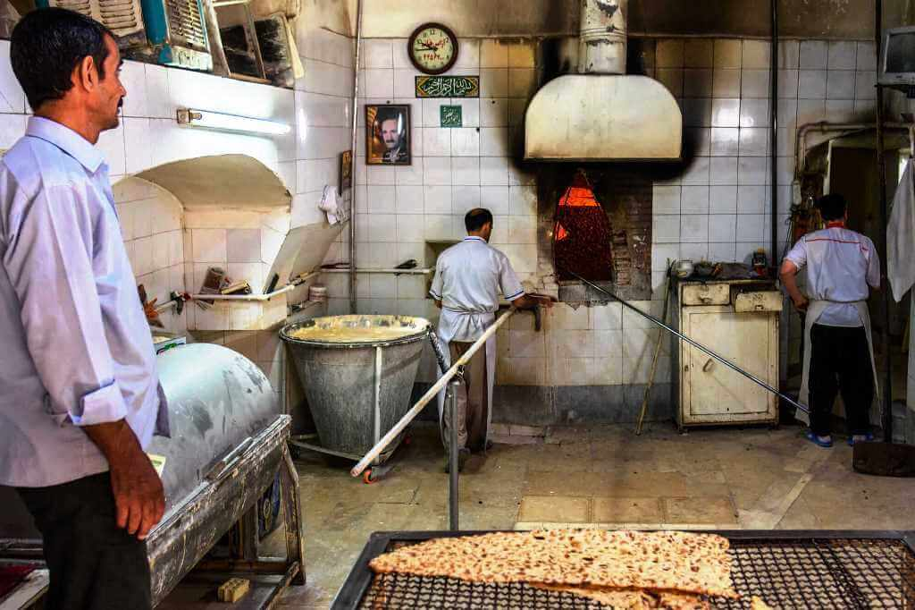 Bakeries in Iran
