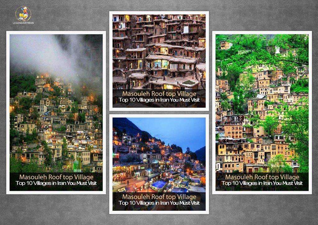 Masouleh Rooftop Village