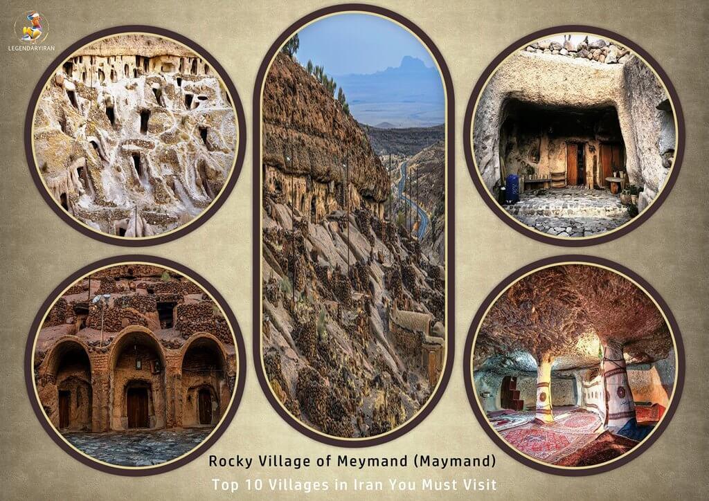 Rocky Village of Meymand (Maymand)