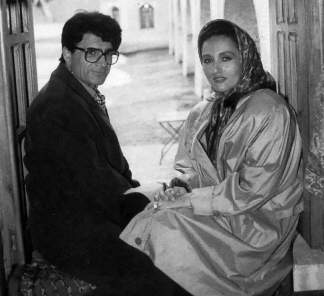 Shajarian with Katayoun Khansari