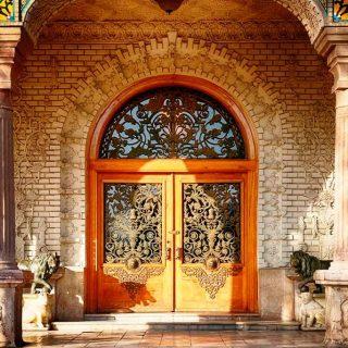 Main Hall Entrance, Golestan Palace