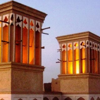 Windcatchers in Yazd