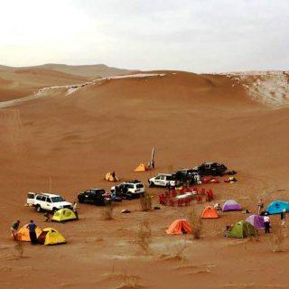 Camping in Dasht-e Lut
