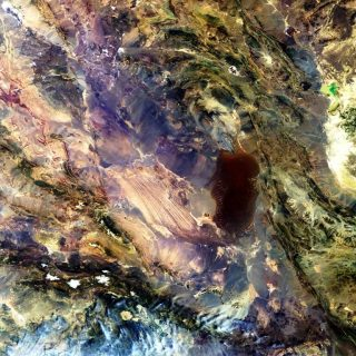 Dasht-e Lut Satellite Photo