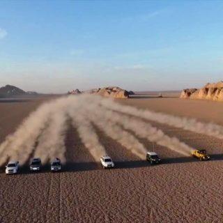 Safari in Lut Desert