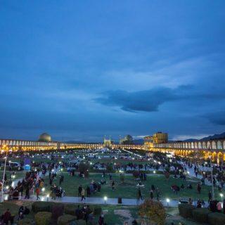 Naqsh-e Jahan Square in Isfahan