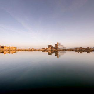 Holy Lake of Takht-e Soleyman