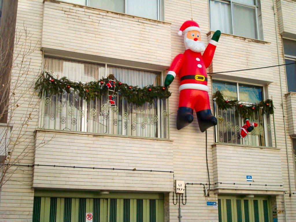 Celebrate Christmas in Tehran