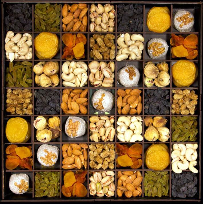 Yalda Ceremony Nut Types