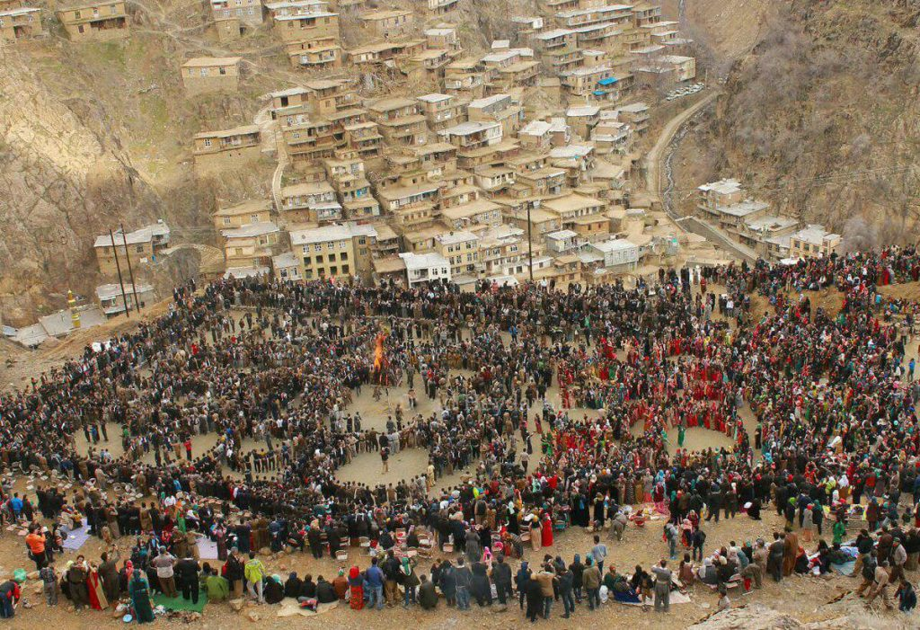 Celebrating Chaharshanbe Suri in Iran