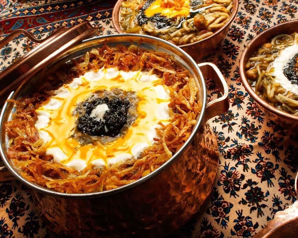 Chaharshanbe Suri Food