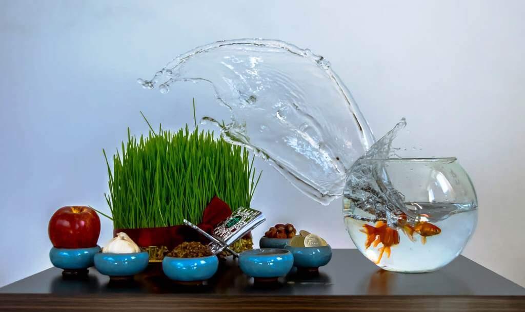 Haft Sin Table (Sofreh Haft Sin)