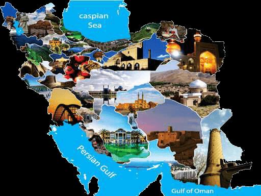 Iran Diversity Map
