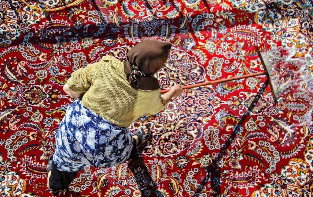 Carpet Washing in Nowruz