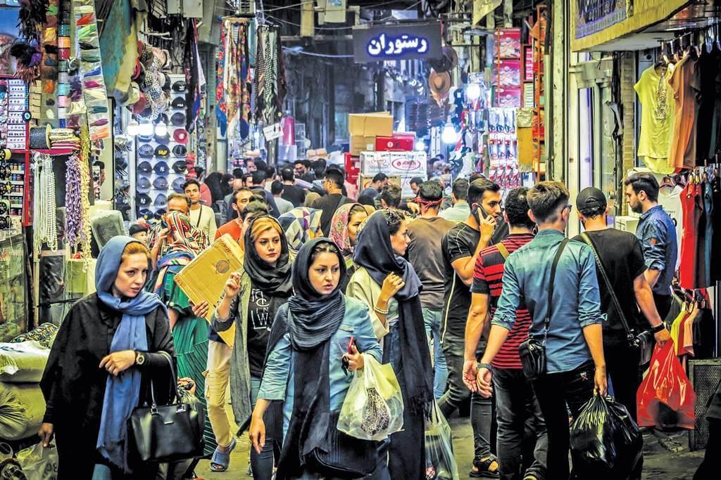Nowruz Shopping in Bazaar