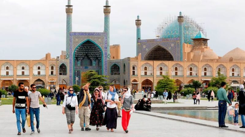 Nowruz Event in Iran as a Tourist