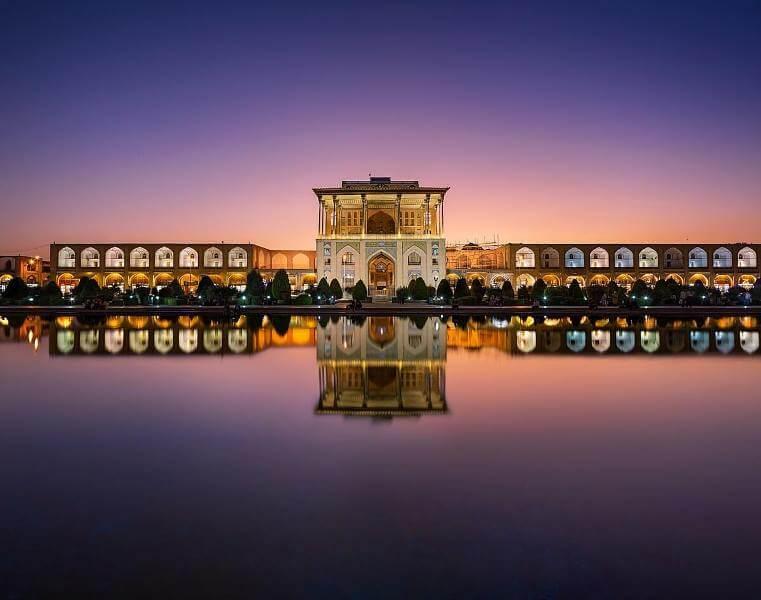 Ali Qapu Palace in Isfahan