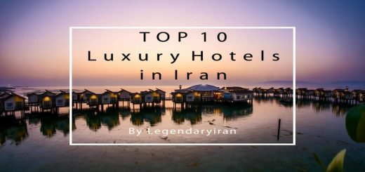 Luxury Hotels in Iran Cover